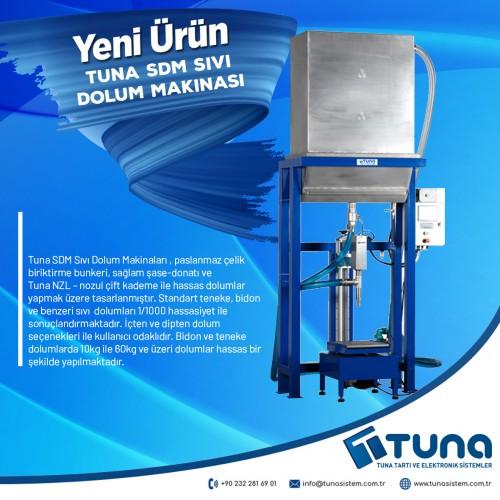 Tuna SDM Sıvı Dolum Makinaları
