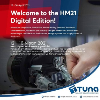 12 - 16 Nisan 2021 HM21 Digital Edition'a hoş geldiniz!