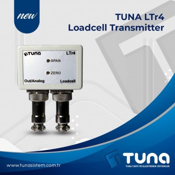 Tuna LTr4 Loadcell Transmitter - Yeni Ürün