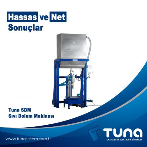 """Tuna SDM Sıvı Dolum Makinası """"Sağlam ve Hassas Sonuçlar"""""""