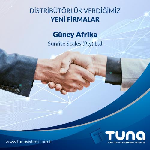 Distribütörlük verdiğimiz yeni firmalar…