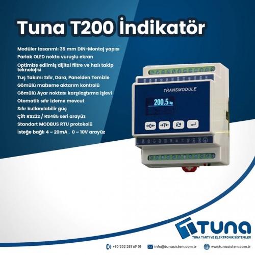 Tuna T200 İndikatör - Yeni Ürün