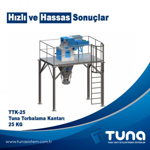"""TTK-25 - Tuna Torbalama Kantarı 25 KG """"Hızlı ve hassas sonuçlar"""""""
