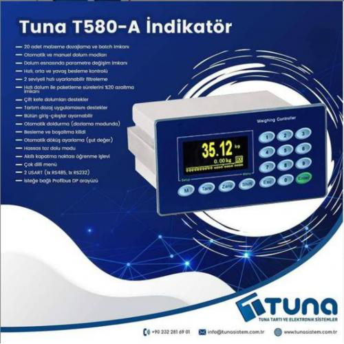 TUNA T580-A İNDİKATÖR