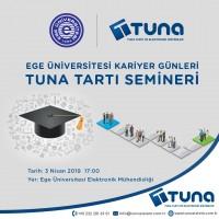 Ege Üniversitesi Kariyer Günleri - Tuna Tartı Semineri