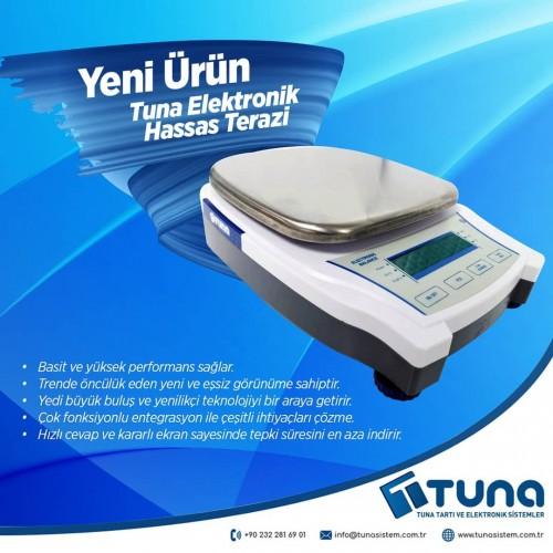 Tuna Elektronik Hassas Terazi - Yeni Ürün