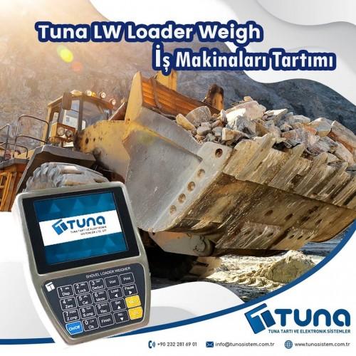 Tuna İş Makinaları Tartımı Kepçe Kantarı