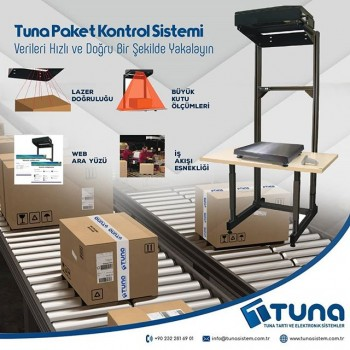 Tuna Paket Kontrol Sistemi