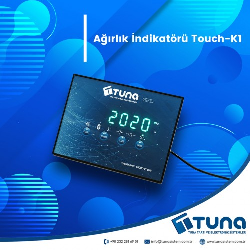 Ağırlık İndikatörü Touch-K1