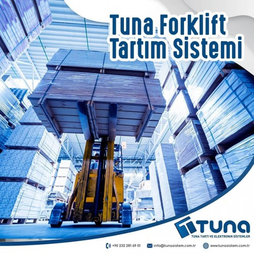 Tuna Forklift Tartım Sistemi