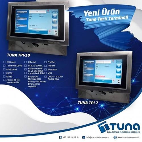 Yeni Ürün, Tuna TPi Ağırlık Kontrol / Tartı Terminali